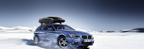 Zima s BMW