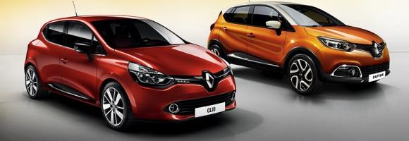 Renault Clio a Renault Captur
