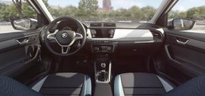 Interiér - Škoda Fabia III