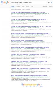 Vyhľadávanie autodielov bez filtra s otravnými nemeckými webmi Autodoc, Autodielyexpert, Autodielyonlie24